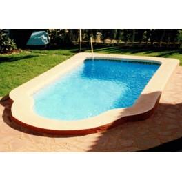 Piscina de fibra de vidrio modelo c 6 amusement logic store for Modelos de piscinas de fibra de vidrio