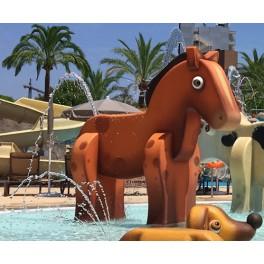 HORSE (LARGE) - AQUAFARM AQUATIC FIGURE