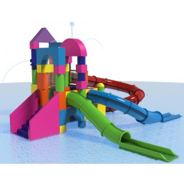 BENGO SPRAY BLOCKS - INTERACTIVE AQUATIC PLAY STRUCTURE