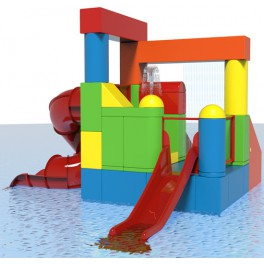 LINDI SPRAY BLOCKS - INTERACTIVE AQUATIC PLAY STRUCTURE