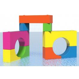 PASSAGE - SPRAY BLOCKS AQUATIC PLAY ELEMENT