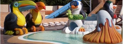 Atracciones y juegos acuáticos