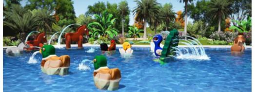 AquaFarm juegos acuáticos