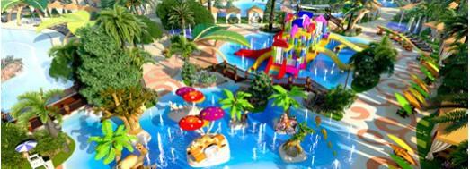 Juegos interactivos acuáticos Spray Blocks