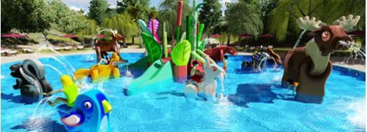 AquaForest juegos acuáticos