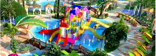 Spray Block Castles - Estructuras de juego acuático interactivas