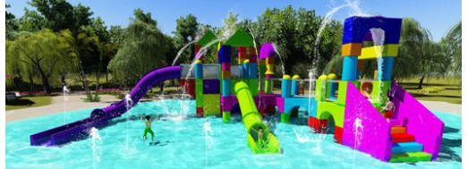 Spray Block Elements - Water play elements