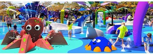 Splash & Spray water attractions