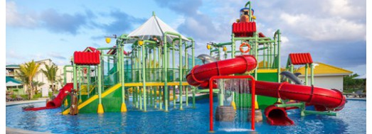 WaterParty interactive aquatic play structures